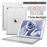 Custodia Per Tastiera iPad Pro 10.5 iPad Air 3 2019, D DINGRICH Alluminio 7 Cassa Astuta Con...