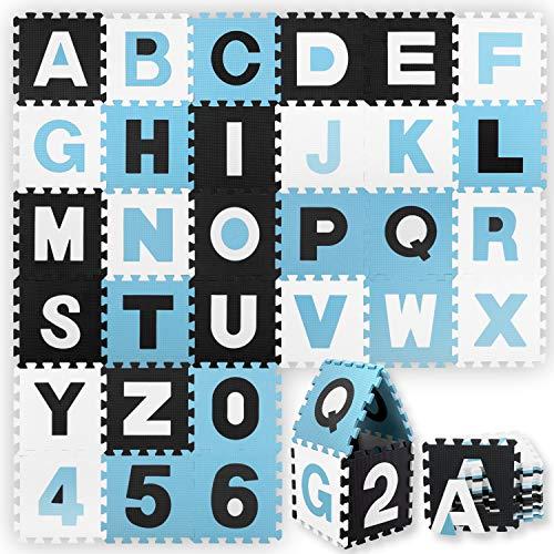 KIDIZ® 86 teilige Puzzlematte Kinderspielteppich...