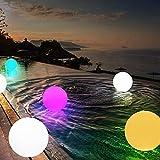 Ted Dan zhengjuan LED Veilleuse Coloré jardin extérieur BOULE LUMINEUSE Lumières avec télécommande Patio Paysage Pathway LED lumineux Boule de table Lampes à gazon ##123