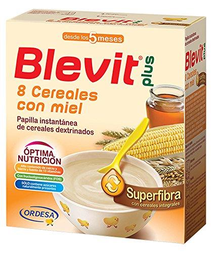 Blevit Plus Superfibra 8 Cereales con Miel, 1 unidad 600 gr