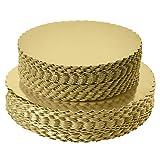 Base redonda para tartas de 8 pulgadas, redonda, desechable, para tartas, redonda, con revestimiento de círculo, base para tartas, 8 pulgadas, 25 unidades