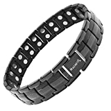 MagnetRX® Ultra Strength Magnetic Therapy Bracelet - Arthritis Pain Relief and Carpal Tunnel Magnetic Bracelets for Men...