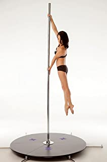 X-Pole 45mm Chrome X-Stage Lite - Portable Dance Pole