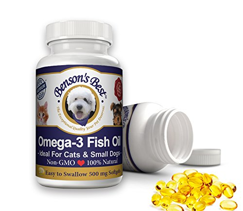 Top 10 best selling list for small capsule oil supplement for cat arthritis