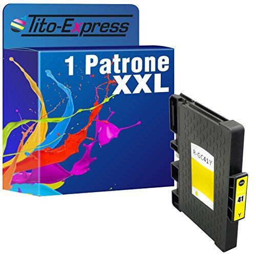 platinumserie 1de tinta XXL compatible para Ricoh GC de 41Yellow Nashuatec SG 3100Series SG-K 3100DN SG 3110DNW SG 3110DN