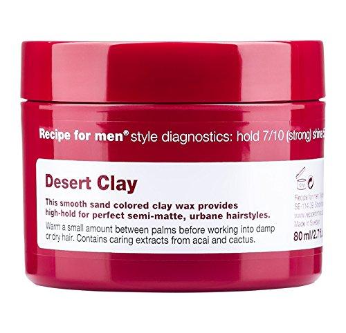 Recipe for men Desert Clay Cire 1 Unité
