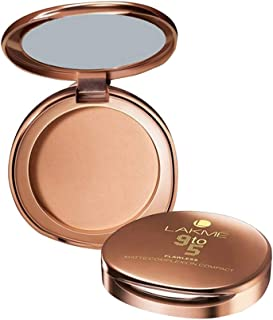 Lakme 9 to 5 Flawless Matte Complexion Compact, Almond, 8 gm