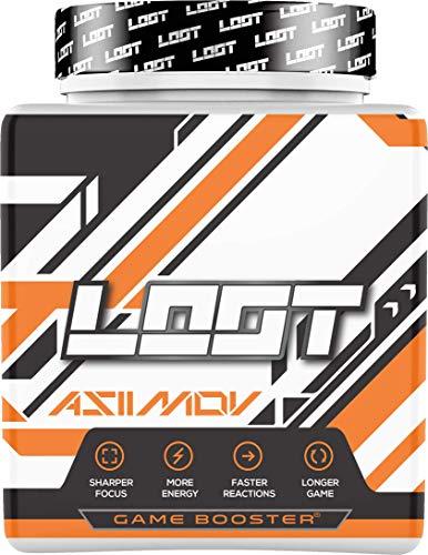NEU   LOOT® - Premium Game Booster mit Flow-State® Formel   50 Servings (400g) mit Koffein   20 hochdosierte Inhaltsstoffe   Unique Design   Konzentration Ausdauer Reaktionsfähigkeit   Asiimov®