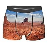sous-vêtements pour Hommes,Photographies du célèbre Parc National de Monuments Valley, Boxer Taille du caleçon Confort Respirant XL