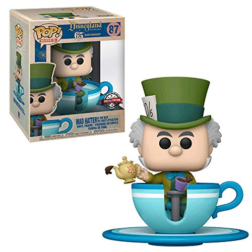 Funko POP! Ride: Disneyland 65th - Mad Hatter in Teacup (Target Exclusive)