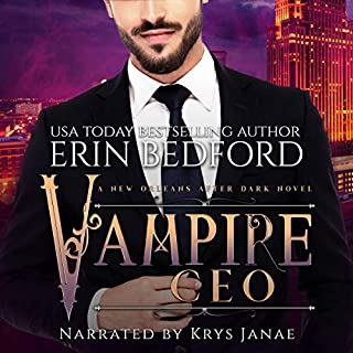 Vampire CEO audiobook cover art