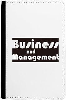 Major Business And Management Black Passport Holder Notecase Burse Wallet Cover Card Purse