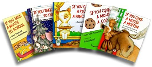 If You Take a Mouse Five-Book Set (If You Take a Mouse to the Movies; If You Take a Mouse to School; If You Give a Moose a...