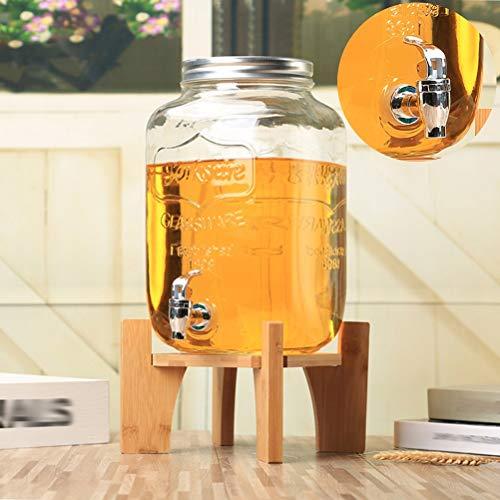 HYXQYJP Drink Dispenser met Stand Lek Gratis Spigot Tin Deksel, Koude Drank Dispenser voor Catering, Buffet of Thuisgebruik
