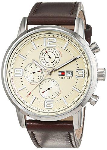 Orologio da uomo al quarzo Tommy Hilfiger 1710337, con visualizzazione...