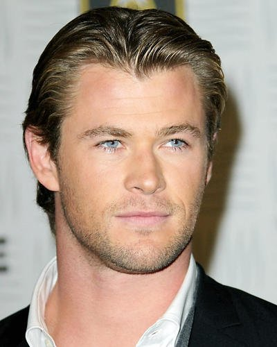 Chris Hemsworth Head Shot Candid Thor Star 8x10 Publicity Photo