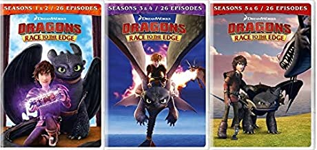 dreamworks dragons race to the edge season 5