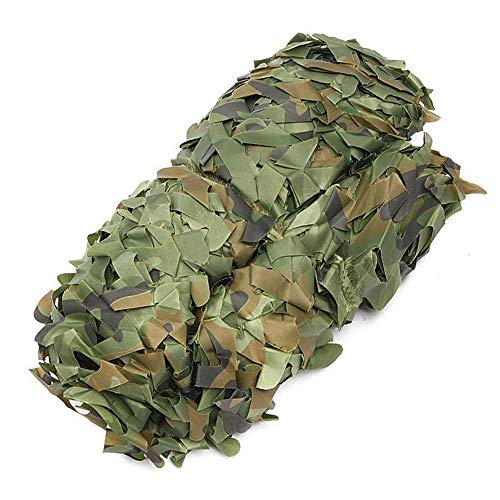 Cfbcc Sunblock Shade Cloth 2mx3m Oxford Cloth Camouflage Netting, For Camping Military Hunting Shooting Blind Watching Hide Party Decorations Sunshade net (Size : 3m x 4m)