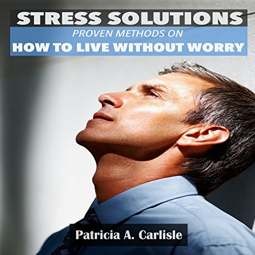 Stress Solutions audiobook cover art