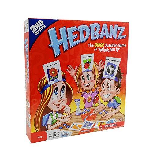 HEDBANZ Game Adivina, ¿qué Soy yo Tarjeta Tarjeta Familia adivinando Juego Creatividad...
