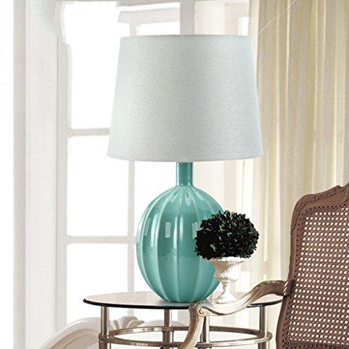 Bonne chose lampe de table Lampe de table méditerranéenne Lampe de table en céramique moderne Lampe de chevet de chambre à coucher Lampe de mode créative