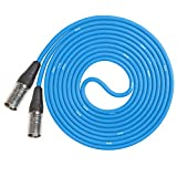 LyxPro CAT6 Shielded Ethercon RJ45 Cable - 150' Feet Blue