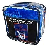 NHL New York Rangers 'Stamp' Raschel Throw Blanket, 60' x 80'