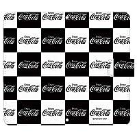 iPhone8 ケース [デザイン:K.ブロック(黒)/マグネットハンドあり] Coca-Cola コカ コーラ 手帳型 スマホケース カバー アイフォン iphone8