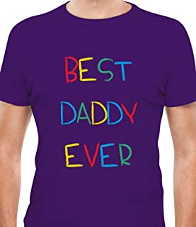 Tstars - Best Daddy Ever - Kid's Handwriting Gift for Father's Day T-Shirt
