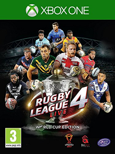 Rugby League Live 4 World Cup Edition (Xbox One) (UK IMPORT)