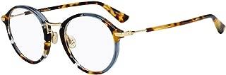 New Christian Dior Essence 6 0JBW Blue Havana Eyeglasses