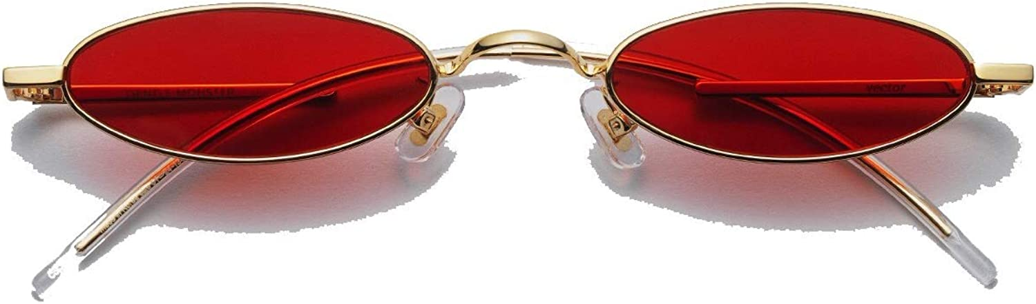 Gentle Monster oval sunglasses VECTOR 03 (RED) case included