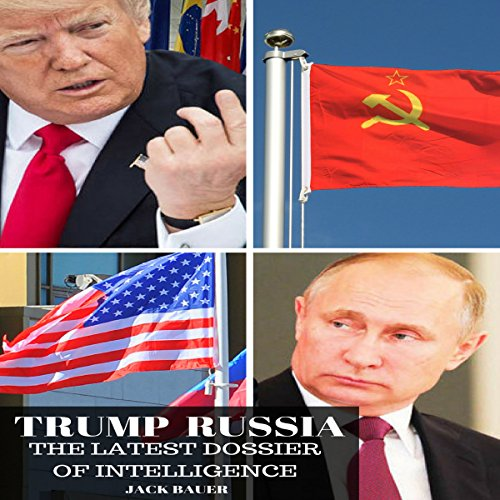 Trump Russia audiobook cover art