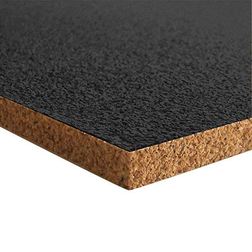 Bodentrend XXL Pinnwand Korkplatte - 915 x 610 x 10 mm (Schwarz)