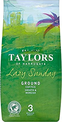 Taylors of Harrogate Lazy Sunday Ground Coffee (6 x 227g)