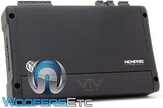 Memphis Audio VIV900.5 SixFive Series 5-Channel car Amplifier — 50 watts RMS x 4 at 4 ohms + 500 watts RMS x 1 at 2 ohms (... photo