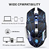 Zoom IMG-1 lasuki mouse wireless da gioco