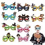 KATOOM Anteojos de Halloween Accesorios de Halloween Novedosas Gafas/Decoración con Marco de...