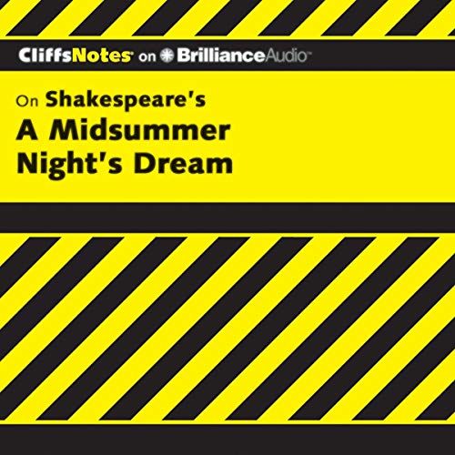 A Midsummer Night's Dream: CliffsNotes cover art