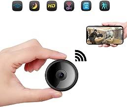 CreateGreat Mini Spy Camera Wireless Hidden Camera HD 1080P WiFi Camera Portable Home Security Cameras Nanny Cam Small Indoor Video Recorder Motion Activated Night Vision
