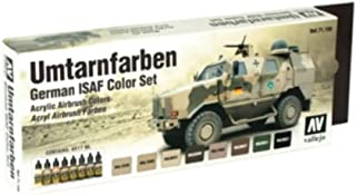 Vallejo German ISAF Color Set, 17ml