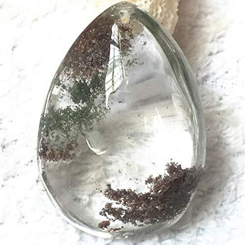 haptern Natural Ghost Stone Anhänger Phantom Quarz Crystal Gem Probe Heilstein supple standard