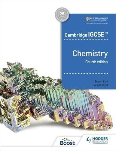 Cambridge IGCSE™ Chemistry 4th Edition