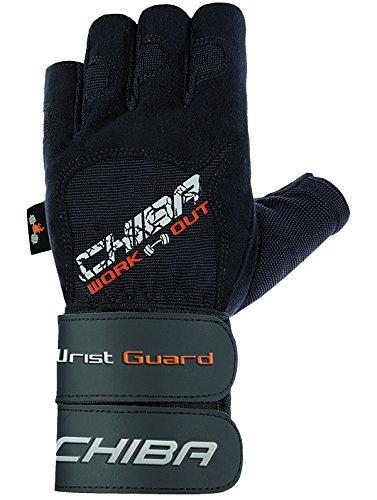Chiba wristguard II Gants pour Homme XS, S, M, L, XL et XXL Noir - Noir