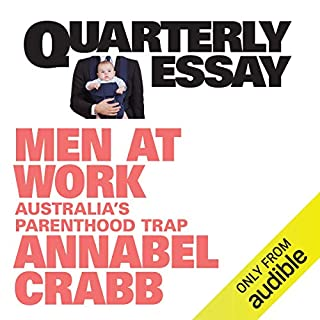 Quarterly Essay 75: Men at Work cover art