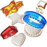 Safe Material: Regilt's sandwich cutter sealer is made of 100% BPA free plastic, food grade quality to keep you and your family safe! The cutters are sturdy to be extra safe with your food! Multiple Sizes: The sandwich cutter set includes 3 shapes of...