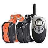 a50 Collar Antiladridos Collar Perro Remote Dog Training Collar Waterproof Rechargeable Dog Bark Control Device with Vibration Electric Shock Beep Training E-Collar