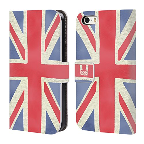 Head Case Designs Union Jack London Best Leather Book...