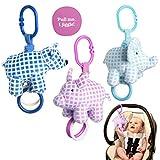 Manhattan Toy Company (Set of 3) Newborn Baby Toys Plush Jiggle...