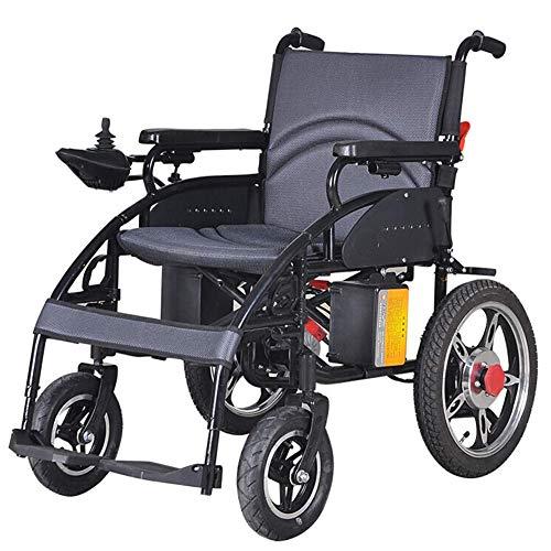 Oudere elektrische rolstoel, licht en duurzaam voor gebruik, zitbreedte 44 cm, ondersteuning 100 kg, gemotoriseerde rolstoelen, voor huis en in de F.